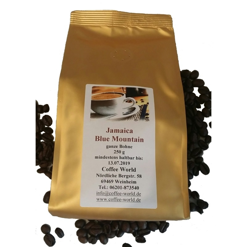 Jamaica Blue Mountain Kaffee 250g Bohne